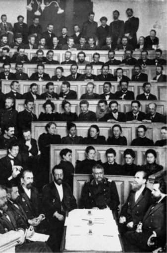 Леонид Ефимович Голубинин на экзамене